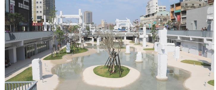 La plaza Spring de Tainanopennewwindow