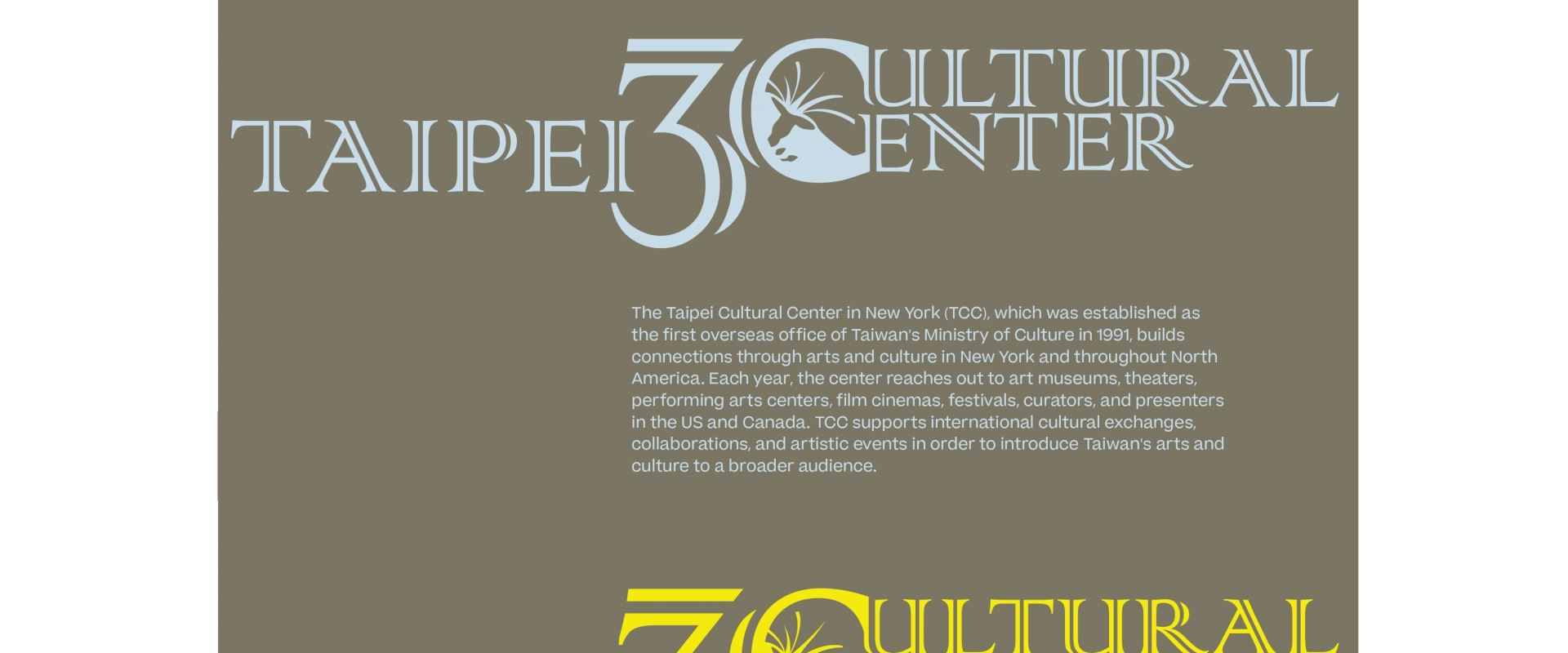 Taipei Cultural Center in New York's 30th Anniversary opennewwindow