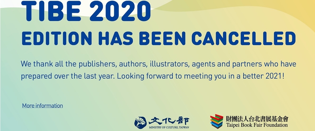 2020 Taipei International Book Exhibition is Cancelled[另開新視窗]