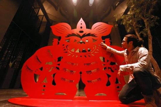 Paper-cutting Artist | Yang Shih-yi