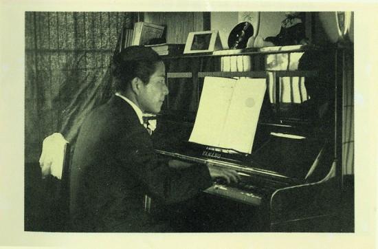 Composer Jiang Wen-ye