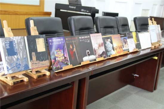 Translated books offered for foreign readership