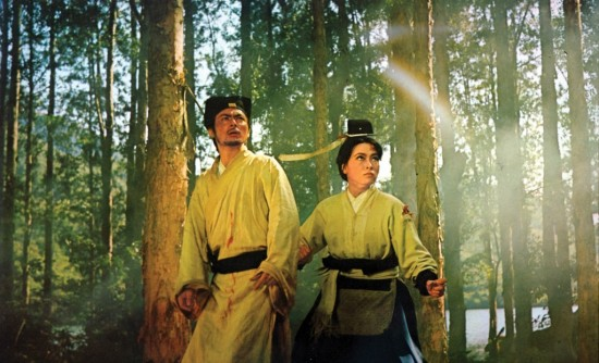 Taiwanese wuxia films in Warsaw