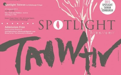 SPOTLIGHT TAIWAN KICKS OFF IN EDINBURGH