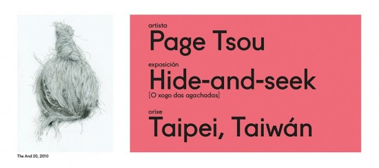 Page Tsou exhibition in Pontevedra