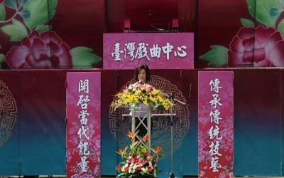 TOPPING-OFF CEREMONY HELD FOR XIQU CENTER