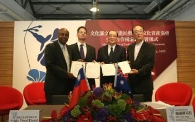 TAIWAN, AUSTRALIA PARTNER FOR HERITAGE