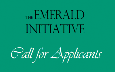 EMERALD INITIATIVE: 2014 OPEN CALL