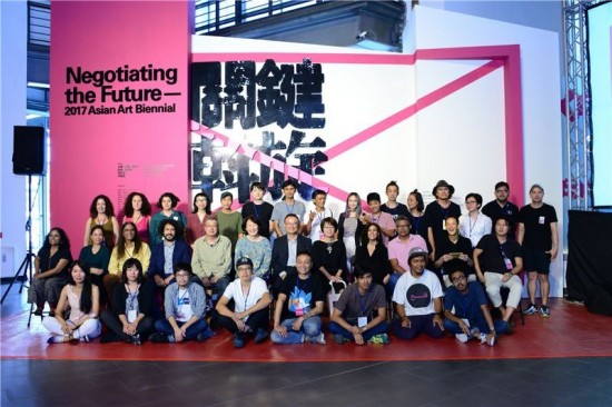 2017 Asian Art Biennial kicks off in Taichung