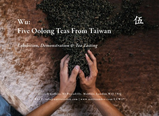 Taiwanese tea culture at London Craft Week