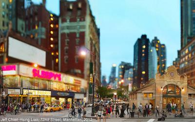 NY CITYSCAPE UNDER TAIWANESE LENS