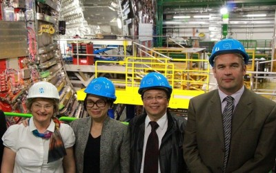TAIWAN JOINS CERN'S RESIDENCY PROGRAM