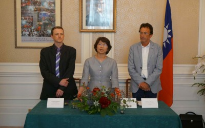 UK PARTNERS JOIN 'SPOTLIGHT TAIWAN' PROJECT