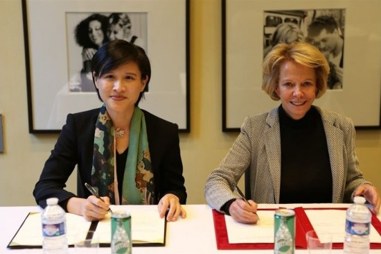 Minister signs accord with French cinema agency