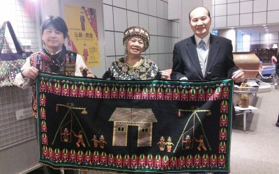 TAIWAN'S INDIGENOUS CRAFTS IN JAPAN