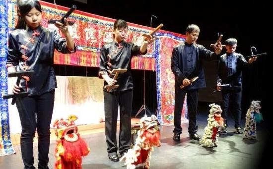 Marionettes at LunarFest
