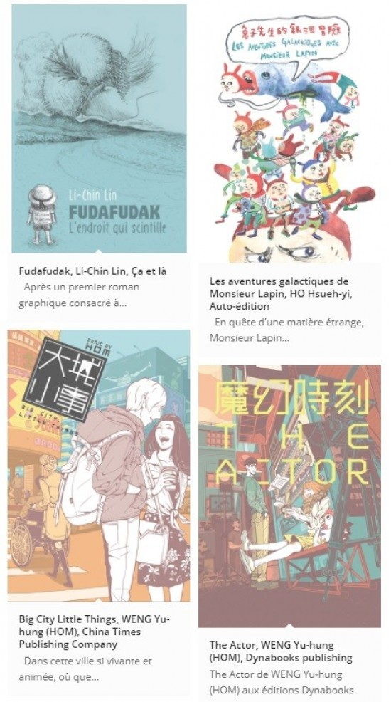 Taiwan comics at Salon SoBD, Paris