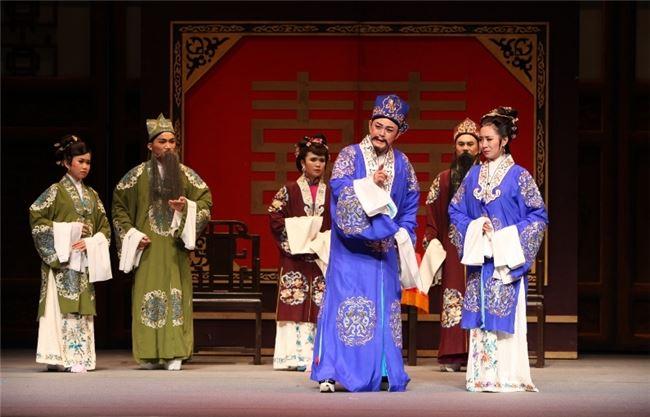 20101015榮興客家採茶劇團《雙花緣》新舞臺演出照片 (3)