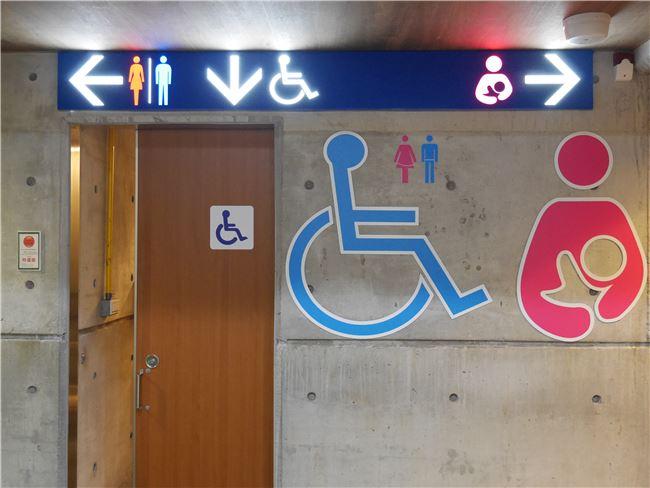 性別友善廁所圖示