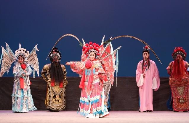 20091204榮興客家採茶劇團《楊家心臼》國家戲劇院演出照片 (2)