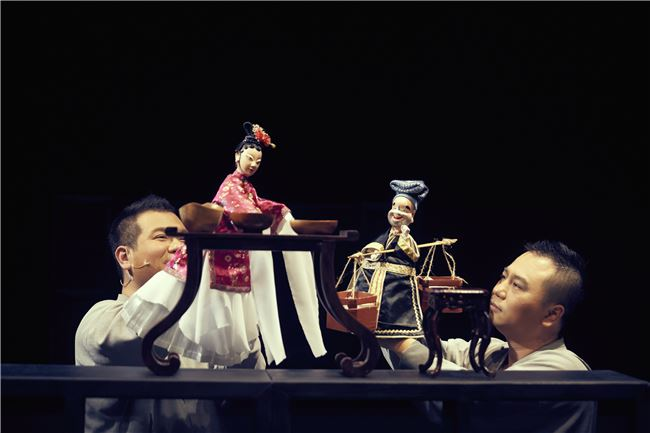 《孟婆.湯》 柯世宏演出潘金蓮,柯世華演出武大郎  攝影:陳又維