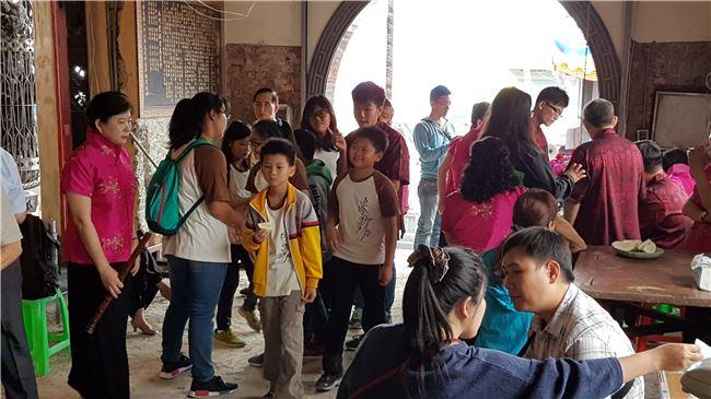 圖五 喜樹國小南管社的學生在傳統與信仰的土地中滋長藝術與人格