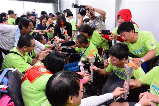 「一架輪椅凸臺灣:全國腦麻鬥陣行」專案活動