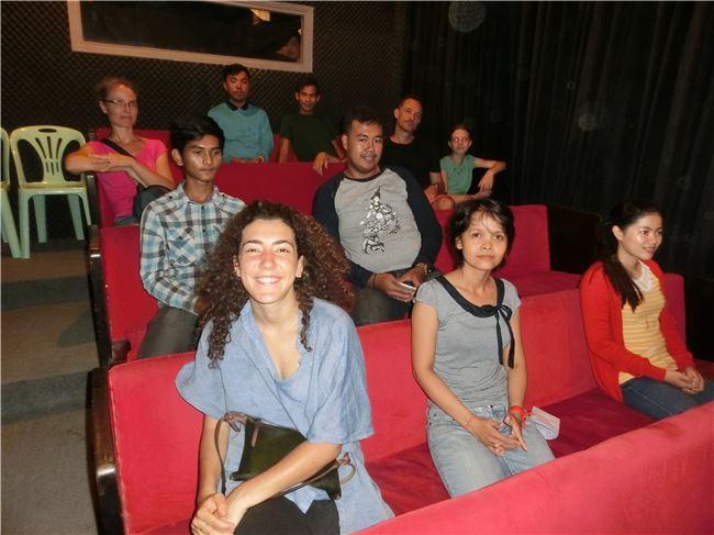 柬埔寨電影資料館透過館藏、各國電影放映,凝聚柬埔寨電影愛好者。