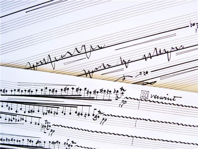 施捷的音符是正方造型,感受分外不同