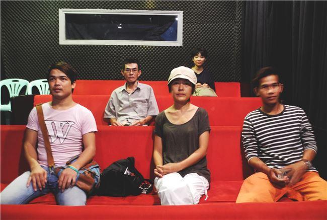 「台灣電影之窗」(Open Window on Taiwan Cinema)放映現場