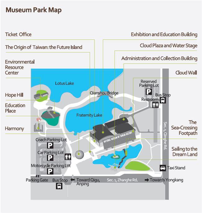 Museum Park Map