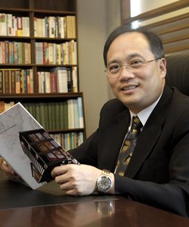 第1任館長 吳密察 Wu, Mi-Cha