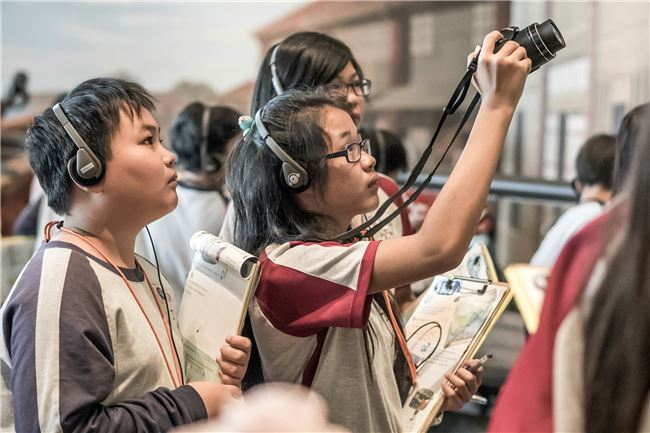學習單活動不僅是展場文字或說明牌的答案搜尋,而是透過活動引導啟發學童對物件的探索、觀察。