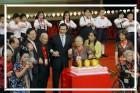 馬總統蒞臨大會堂「精彩100-阿公阿嬤青春擂台」
