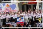 馬總統參加僑委會舉辦之「百年百齡聖火會師活動」。