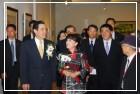 中山國家畫廊展出「無限─倩玉的版畫世界」,馬總統親臨開幕