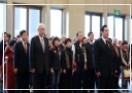 馬英九總統率領黨員向國父銅像致敬