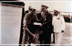 先總統 蔣公主持本館奠基典禮(54.11.12)