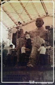 製作國父銅像外模
