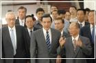前總統馬英九蒞臨參觀割臺革命民國護臺灣特展