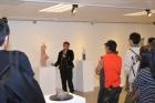 翠亨藝廊展出張真英雕塑展