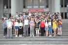 Secretary-General of Sun Yat-sen Foundation Zhong De-chang led the Guangdong Outstanding Youth Taiwan Visiting Group to visit the Hall