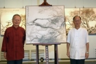 中山畫廊展出蔡友70歲個展