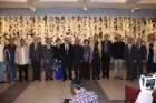 """Condensation and Variety: Du Zhong-gao 70 Calligraphy Exhibition"" was held at Chungshan National Gallery, Opening Ceremony. Duration: 11/11-12/20."