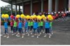 為紀念國父誕辰152年,本館與中華民國團結自強協會,於正門廣場前舉辦「紀念國父誕辰152年-青春、幸福、活力」活動,特邀請多元族群組成的臺北市律動舞蹈推廣協會表演,觀眾反應熱烈,觀賞人數約1,500人。