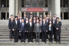 日本和歌山縣議會日華親善議員聯盟會長尾崎要二率會員一行25人蒞館參訪,由本館林國章館長代表接待。