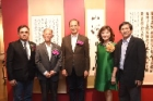 "The Bo-ai Gallery held the ""Elegance Revisited -Invitational Exhibition of Famous Artists of Cross-Strait Paintings and Calligraphy."