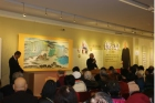 """Clear Profoundness in Tranquility: Guo Xian-lun 75 Calligraphy and Painting Exhibition"" was held at the Yat-Sen Gallery."