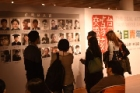 """Taiwanese and Japanese Youth Inscription Exchange Exhibition"" was held at Bo-ai Art Gallery. Duration: 3/10-3/25."