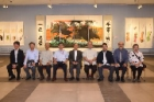 """Evergreen Artist: Jiang Yi-Han Ninety-Three-Year-Old Calligraphy and Painting Exhibition"" took place at Chungshan National Gallery"